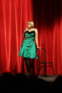 Desy Icardi Autricomica cabarettista.