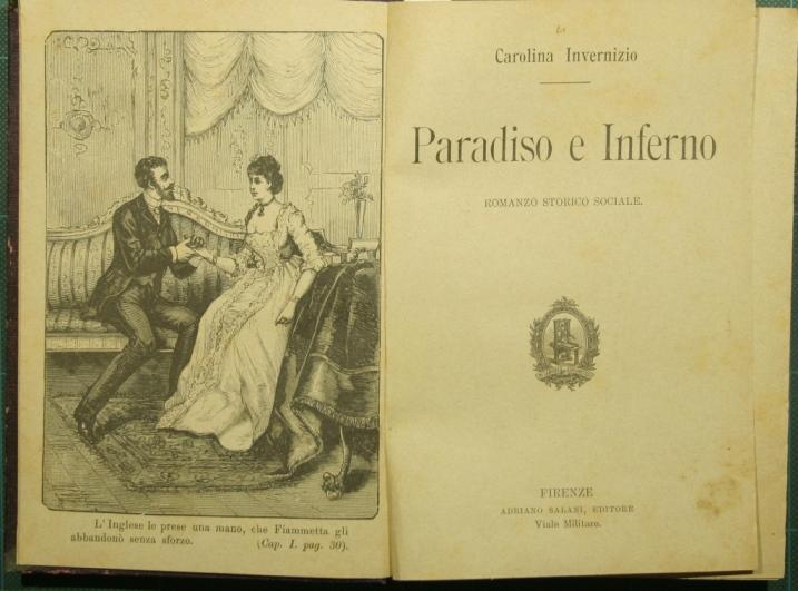 Romanzo Carolina Invernizio